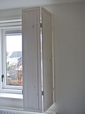 Houten binnenluiken | www.no-52bijzonderwonen.nl