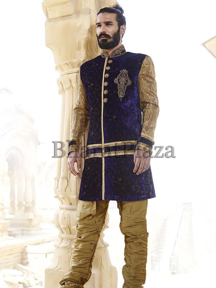 17 Best Images About Indowestern Sherwanis On Pinterest Coats Blue Colors And Sherwani