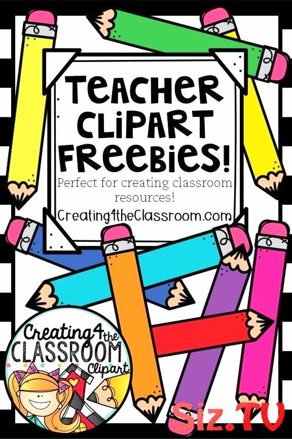 FREE clipart perfect for creating classroom resour back