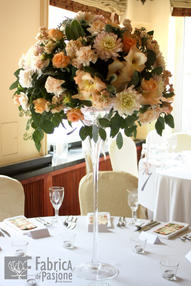 Łososiowe dekoracje stołu