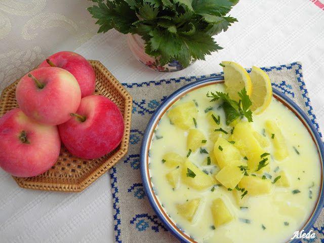 Aleda konyhája: Kalotaszegi zelleres almaleves