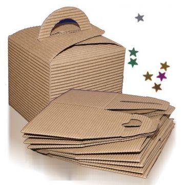 Cajita de Regalo Kraft, vienen en pack de 10 unidades, resultan ideales para pequeños detallitos, todo un acierto. Las tienes en Gran Velada. #diy