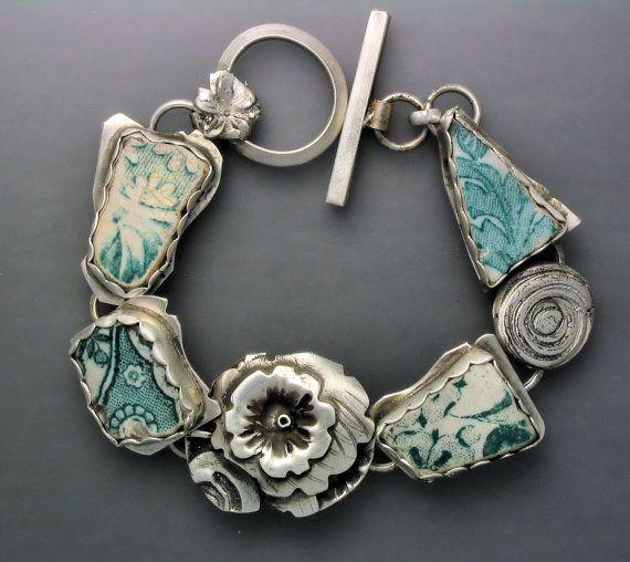 ☮ American Hippie Bohemian Jewelry ☮ Turquoise Bracelet