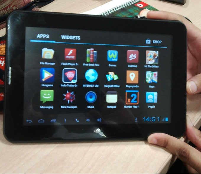 Hands-on review: UbiSlate 7Cx is a great educational and voice calling tablet at R 3999 Find complete coverage the best apps for Games, Entertainment & Sports, Lifestyle & Fitness, News & Knowledge, and Utilities only on http://daily.bhaskar.com/gadgets/