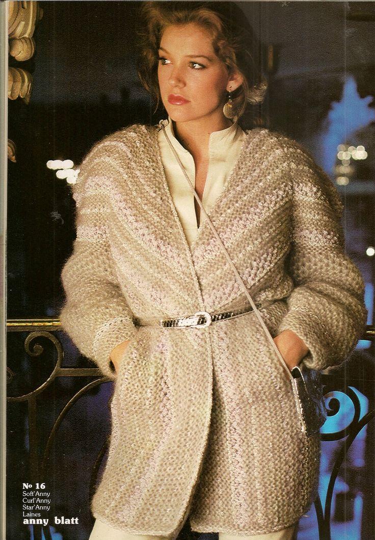 Magazine Anny Blatt N U00b035 Tricot Collection Hiver   Autres Tricot Et Crochet Par U2026