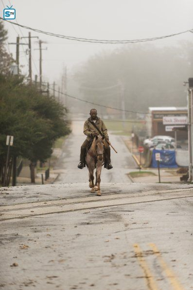 The Walking Dead Season 6 Episode 16 'Last Day On Earth' Morgan Jones