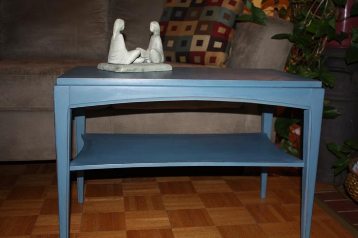 Side table ASCP - Aubusson Blue