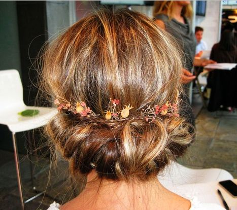 14 best images about tocados on Pinterest Flower headpiece Blue