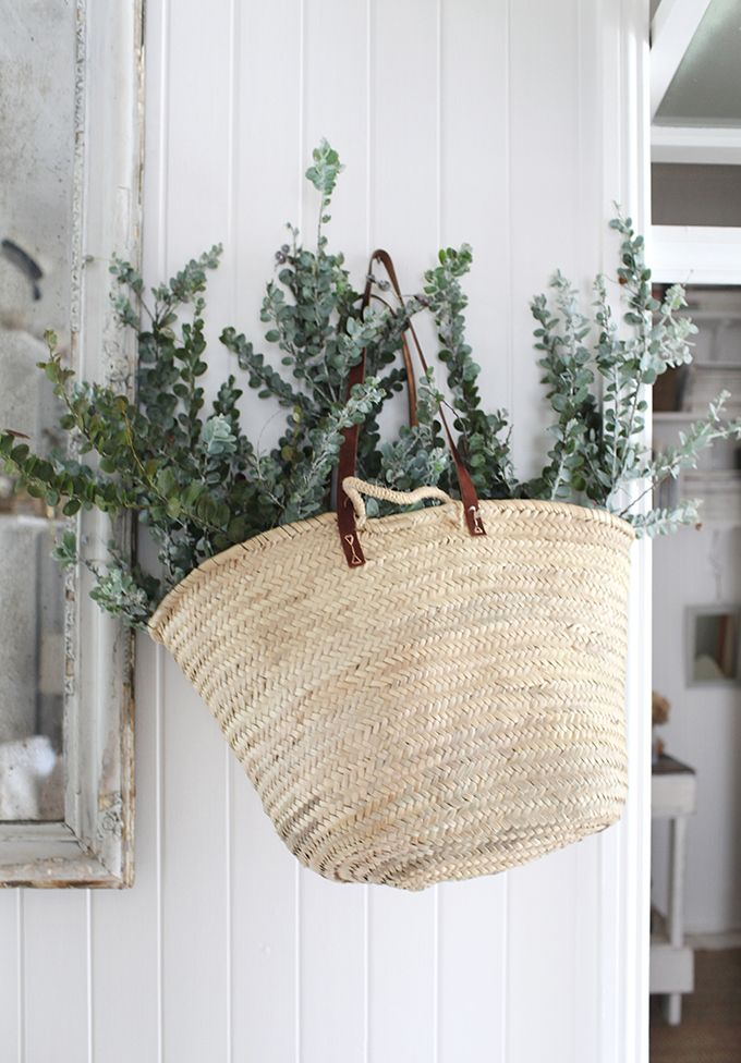 / Eucalyptus a Christmas must have xx This would be perfect in the corner of the porch by the front door!!