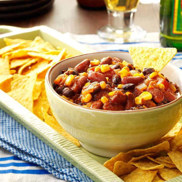 Taco Joe Dip Recipe -My daughter was the first to try this recipe. She thought it was so good she passed it on to me. My husband and I think it's terrific. Because it's made in a slow cooker, it's great for parties or busy days. —Lang Secrest, Sierra Vista, Arizona