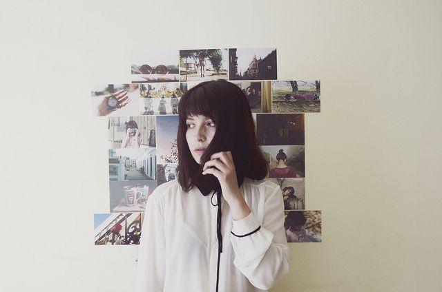 #film #35mm #analog #vintage #portrait #girl #wall #pictures #vintage