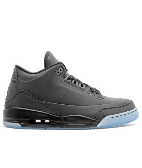 Air Jordan 3 5Lab3 Black Black Clear