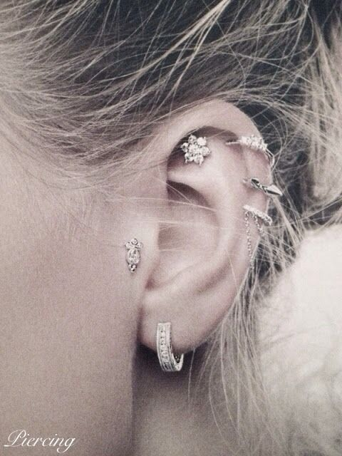 I want to get this done, but I only want the outer ear cartilage piercings :)