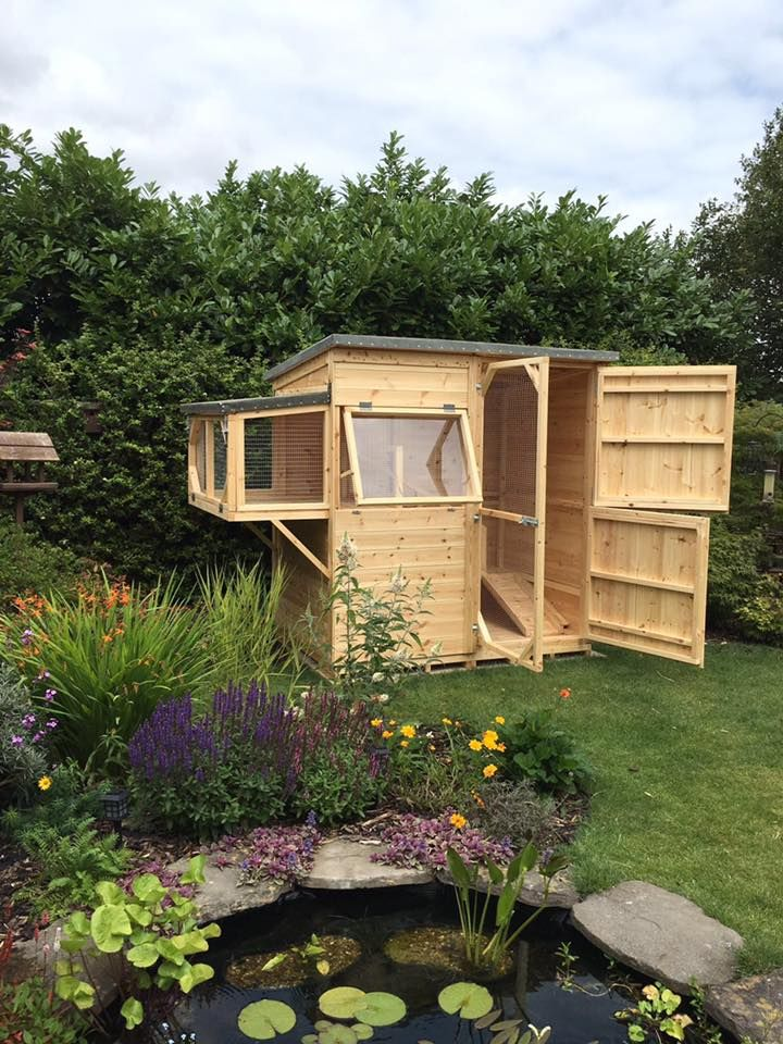 Thank you so much for my shed! Honestly, I couldn't be more happy with the finished product. Worth every penny & the buns love it too! Highly recommended!