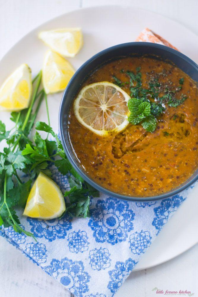 Turkish Lentil Soup - The Little Ferraro Kitchen