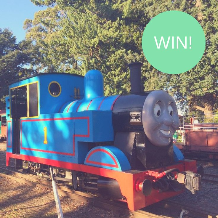 Bellarine Railway Day Out with Thomas - Giveaway! http://tothotornot.com/2017/03/bellarine-railway-day-out-with-thomas-giveaway/
