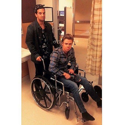 Derek Hough Injury: Nastia Liukin Comforts Dancing With The Stars Partner - Boyfriend Matt Lombardi Fears Cheating!