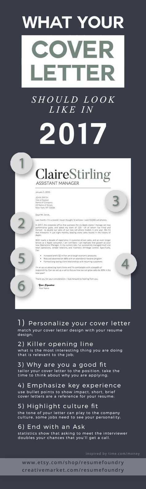 accountant cover letters%0A What your Cover Letter should look like in       Inspired from time com