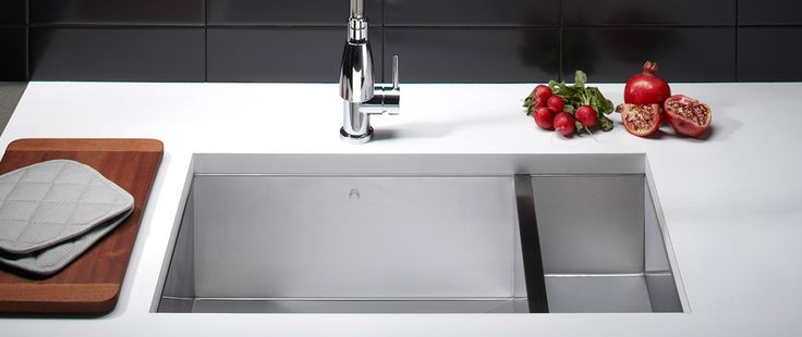 The leader in high-end sinkware design, AFA's contemporary product range is engineered to last. A selection of beautiful, architecturally inspired designs deliver enhanced kitchen aesthetics matched with unsurpassed quality.