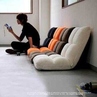 Chair memory foam 無段階-Chair 座いす reclining recliner Beach sets J. pulse from cheer BELL (BEL) ■