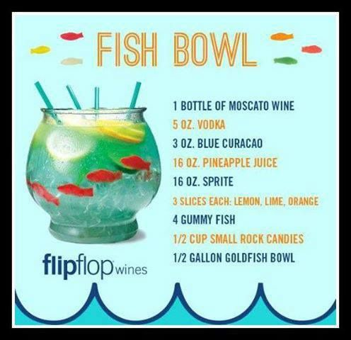 Fish Bowl #liquor