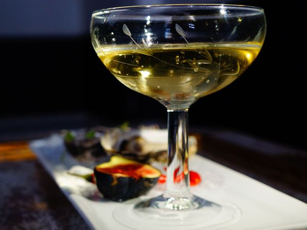 Johannesburg has a new champagne bar and restaurant that serves delicious food and local MCCs by the glass.