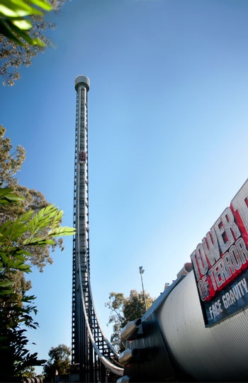 Tower of Terror II, Dreamworld, Gold Coast, Australia (© Dreamworld)