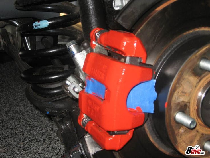 2016 Honda Accord Sport For Sale >> DIY: How to Paint your Brake Calipers (w/ pics) - 8th ...