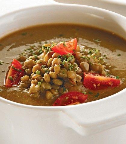 ¡Consiéntete con esta deliciosa y súper nutritiva sopa  de lentejas!