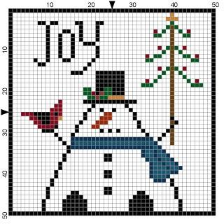 Free Christmas Cross Stitch Patterns!