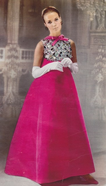 Vintage Gown by Givenchy 1967