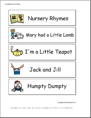 Worksheets Sentences With Rhyming Words For Kids 17 best images about grand kids on pinterest humpty dumpty word wall nursery rhymes pictures from mary had a little lamb