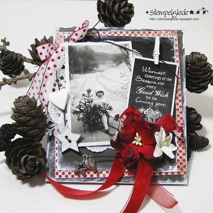 Warmest Greetings of the Season - Gunhild J. G. Bay - Stempelglede :: Design Team Blog