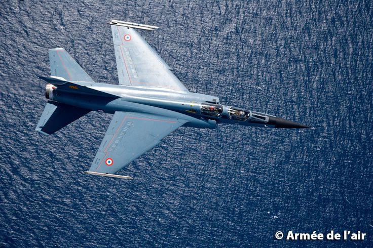 French Armée de l'Air Dassault Mirage F1, normally used in recon role, in F1CR versions.