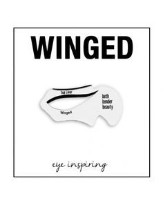 Winged Eyeliner Stencil - Cat Eye Makeup Stencil | Beth Bender Beauty | Can just purchase the tool & not the entire kit.