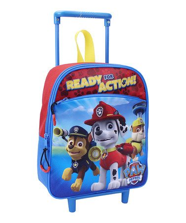 Love this PAW Patrol 'Ready for Action' Rolling Backpack by PAW Patrol on #zulily! #zulilyfinds