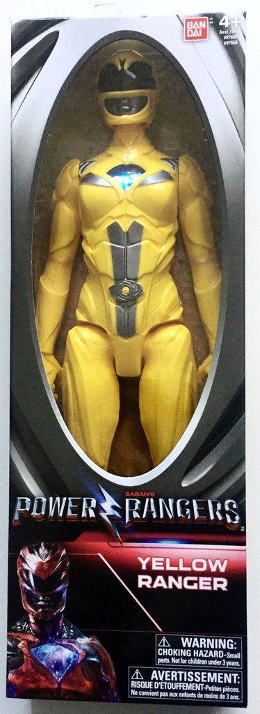 "Power Rangers Movie Action Figure 12"" Yellow Ranger"