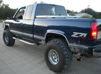 Favorite Style Truck 1990 chevy z71 1500  Barefoot Blue Jean
