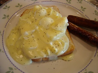 Creamed Eggs on Toast...our favorite breakfast!