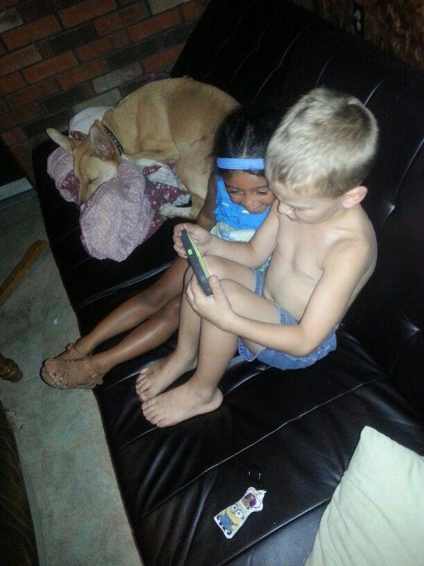 Child hood friend.  Valin.