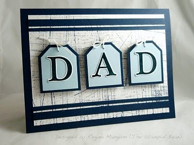 The Stampin' Bean: Trio of Dads for a Father's Day Hop!...