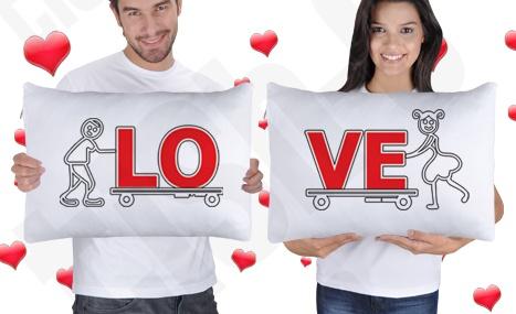 Aşk Emek İster Uyku Yastık Kılıfları  #love #groom #bride #pillow #weddin #gelin #damat #gift