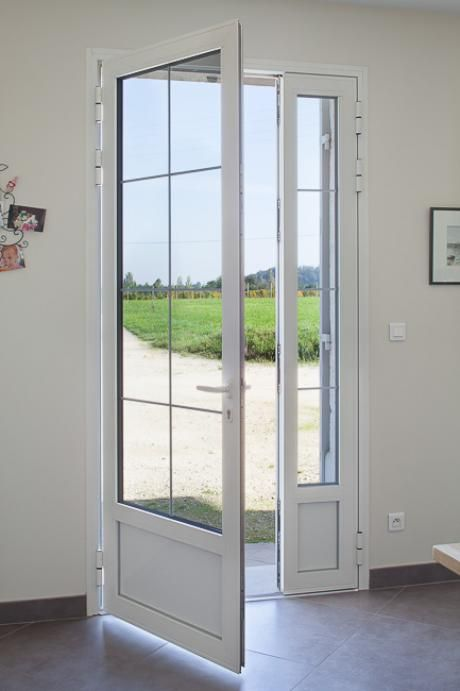 25 best ideas about porte d entree vitree on pinterest for Porte de service vitree pvc
