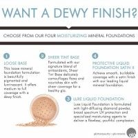 Want a Dewy Finish?