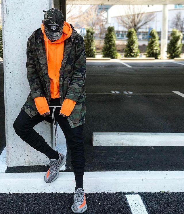 Streetwear men outfits