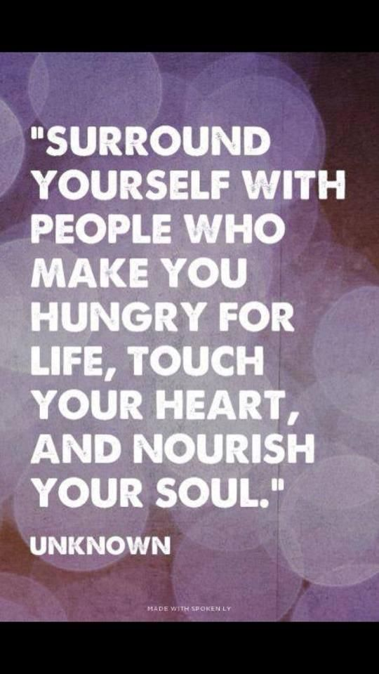 Surround yourself with people who are curious, open-hearted and open-minded about life's possibilities, who are bold and who love you enough to point you in that direction especially when you've become discouraged, jaded, disillusioned, or hardedend by life's experiences.   #Positivity #Motivation pic.twitter.com/InGkDibl5C