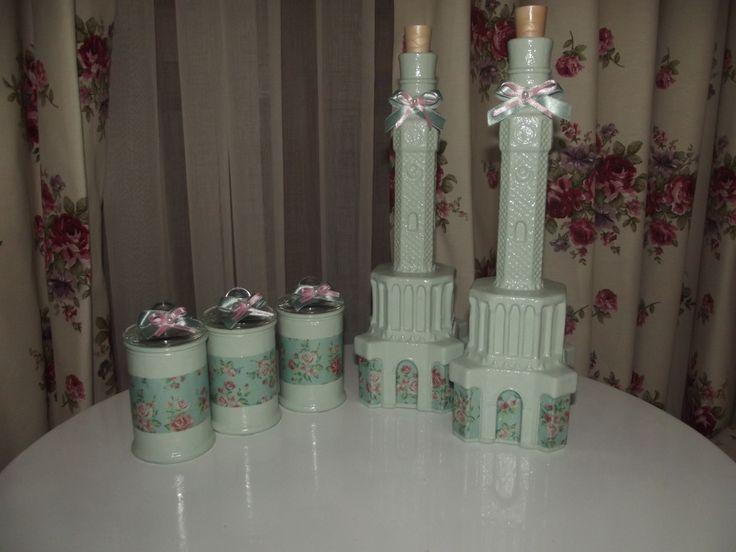 kavanoz boyama, yağlık ve takım baharatlıklarım 50 tl sipariş verebilirsiniz :)