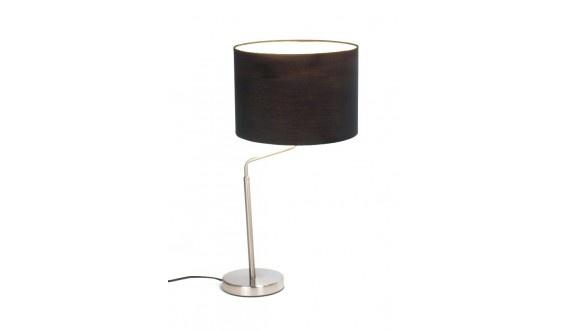 Surge Table Lamp -Fabric & Metal-Black H620*300mm