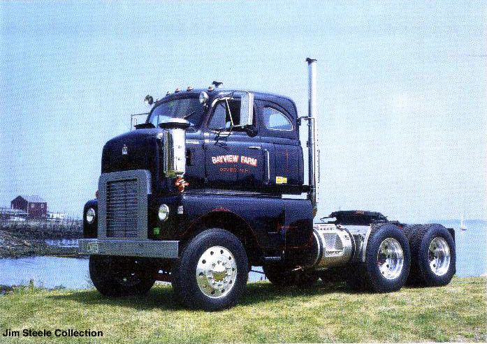 at least some american coe heavy motor trucks built for export had normal mid positioned. Black Bedroom Furniture Sets. Home Design Ideas