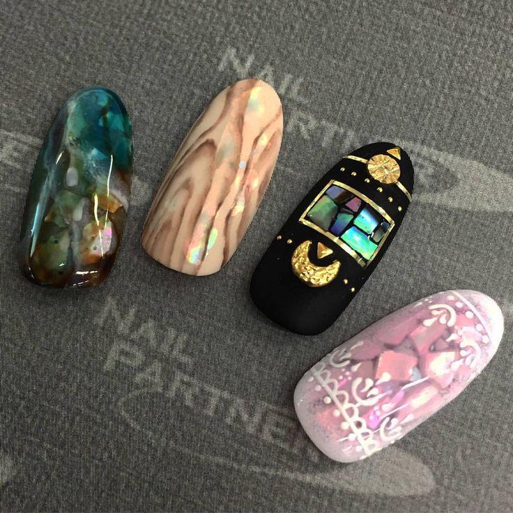 new!! クロウ クラッシュシェル #nailpartner#nail#nailart#gelnails#gelart#instanails#instagood#acegel#japan#nails#trend#fashion#美甲#ネイルパートナー#ネイル#エースジェル#ネイルアート#ジェルネイル#トレンド#ファッション#貝殻#貝#シェル#shell